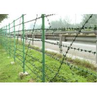 Easy Construction Anti Climb Fencing Size Customized Prison Security Fence