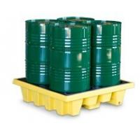 Cheap SYSBEL Oil Tank 4 Drum PE Spill Pallet And Spill Deck , Easy To Clean for sale