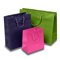 Best Matte Colored Jewelry Gift Bags Aqueous Coating Technics For Shopping wholesale