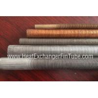 Quality Gr 1 / 2/ 16 /26  SMLS Titanium Integral Low Finned tube ,  30FPI / 36FPI / 43FPI wholesale