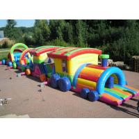 Best Large Long Outdoor Obstacle Course For Kids Interactive Boot Camp wholesale