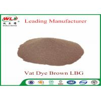 Best Synthetic Textile Reactive Dyes Vat Brown Lbg Textile Dyes And Chemicals wholesale