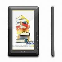 Best 7-inch E-book Reader with Touch Screen, Supports TXT, PDF, CHM, HTML, PDB and UMD Formats wholesale