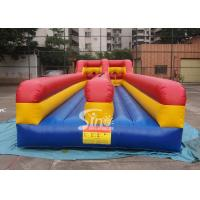 Best 10m long kids N adults inflatable bungee run for indoor or outdoor 2 person interactives wholesale