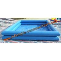 Best 0.6 mm Above Ground Inflatable Swimming Pool / Inflatable Water Games wholesale