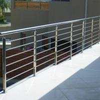 Cheap Modern Balcony / Staircase Stainless Steel Rod Railing Design for sale