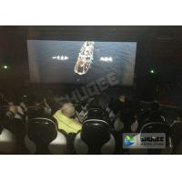 Best Red / Black 5D Movie Theater For 5 Persons With Fiber Glass Material wholesale
