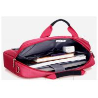 Customized pretty 14 inch laptop bags , women computer bags for travel or office