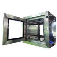 Best Lab Static Cleanroom Pass Thru Box / Stainless Steel Pass Through wholesale