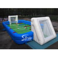 Best Commercial human inflatable foosball arena court for football activities wholesale
