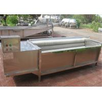 Best Durable Potato Washing Machine For Industry Low Breaking Rate Easy To Operate wholesale