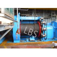 Best 10T 20T Hydraulic Windlass Winch With Lebus Grooving Drum Eco Friendly wholesale