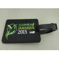 Best Personalized Soft PVC Luggage Tag , 2D Eco Friendly Rubber Personalized Luggage Tags wholesale