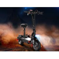 Best 48V 580W Electric Folding Mobility Scooter Lithium Battery USB Phone Charger 110km Endurance Mileage wholesale