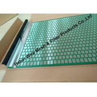 Best 40 - 400 Mesh Flat Oil Vibrating Screen For Model 500 Shale Shaker Mud Cleaner wholesale