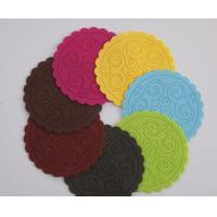 Best low price silicone heat resistant cup mat wholesale