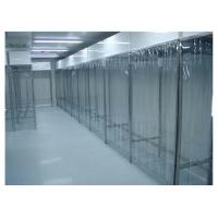 Cheap Stainless Steel Class 100 Pharmacy Clean Room With PVC Plastic Curtain Wall for sale