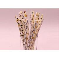 Best Disposable Colored Paper Straws Harmless Custom Color For Human Body wholesale