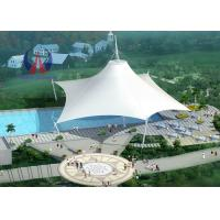 Quality Space Frame Park Shade Structures Sun Shelter Canopy For Park Area , Light And Spaciou Membrane Structure Without Wall wholesale
