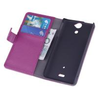 Best Sony Cell Phone Cases, Xperia V LT25i Pink PU Stand Cover with Card holders wholesale