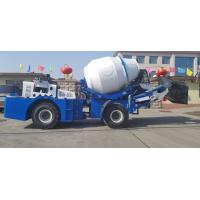Best Self Loading 1.8cbm Concrete Cement Mixer Truck With CBGV-4025 Pump wholesale
