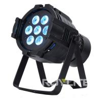 Best 7 x 10w Professional Stage Lighting Fixture Color Wash Light Quad RGBW wholesale