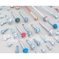 Best Colored 10 Mm Hex Flange Head Self Drilling Screws , Metal Roofing Screws With Washers wholesale