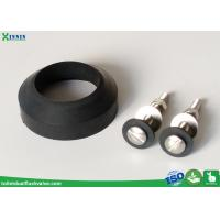 Toilet Tank To Bowl Kit , 3 Inch Toilet Bolts And Doughnut Toilet Rubber Gasket