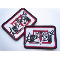 Best Polyester Woven Custom Clothing Patches Self Adhesive Embroidery wholesale