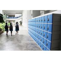 Best ABS Material Keyless Plastic School Lockers 4 Comparts 1 Column Safety / Ventilation wholesale