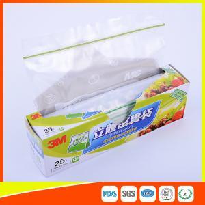 Best Food Grade Freezer Zip Lock Bags / Zip Top Freezer Bags Customized Printed wholesale