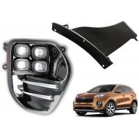 Cheap OE Style Fog Lamps , LED Daytime Running Light DRL Kits for KIA SPORTAGE 2016 for sale