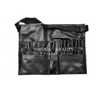 Buy cheap Best Selling Faux Leather Makeup Brush Tool Apron / Belt With Strap Light Weight from wholesalers