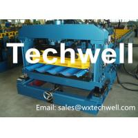 Best PLC Control Metal Roof Tile Making Machine For Material Thickness 0.3 - 0.6mm wholesale