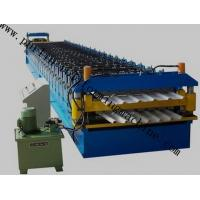 Best Color Coated Roof Panel Roll Forming Machine , Roof Tile Forming Machine For Metal Sheet wholesale