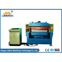 Best 70mm Shaft Corrugated Iron Manufacturing Machines 380V 50Hz 0.3-0.8mm Thickness wholesale