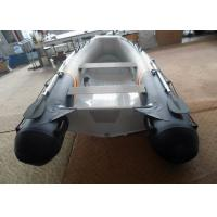 Quality 3.5m Aluminum Commercial Boats , Lightweight Aluminum Hull Boats With PVC Tube wholesale