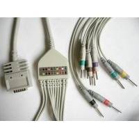 Best EK-10 Surgical Plastic EKG Machine Cable Single Piece IEC And AHA wholesale