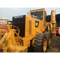 Cheap Second Hand Compact Motor Grader Caterpillar 140 2800hrs Wihout Oil Leakage for sale