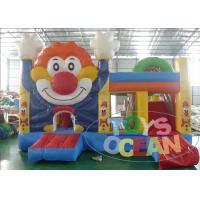 Best Clown Colorful Inflatable Bouncer Combo Multiply Jumping Castle For Kid wholesale