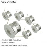 Best mini high quality italy design round set led cabinet light 24w wholesale