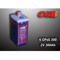 Best 2V 6 OPzS300 Rechargeable Tube Opzs Solar Batteries UPS Telecom Application wholesale
