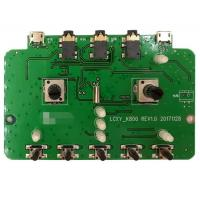 Best 2 Layers SMT PCB Assembly PCBA Prototype Service Green Soldmask For Audio Products wholesale