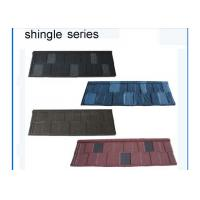 Best Stone Coated Metal Zinc aluminium step tile roofing sheets Classical Style 0.4mm wholesale