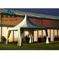 Best Portable 6x6M Pagoda Canopy Tent High Peak 15 Years Warranty With Indoor Decorations wholesale