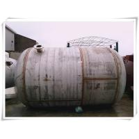Best 240 Gallon Stainless Steel Air Receiver Tank Horizontal Orientation SGS Approved wholesale
