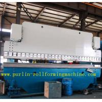 Best Automatic PLC Control Hydraulic Bending Machine For Roofing Sheet , ISO / CE Approved wholesale