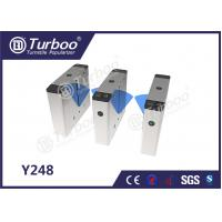 Best Bi - Directional Flap Barrier Turnstile 35 Persons / Min Transit Speed wholesale