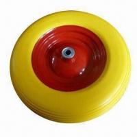 Best PU Foam Wheel with 200kg Load Capacity, Suitable for Wheelbarrow, Tool Cart and Machine wholesale