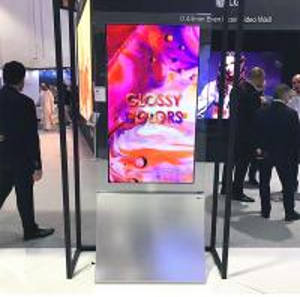 China Kiosk Machine Custom OLED Display , Standing Small Flexible OLED Display on sale